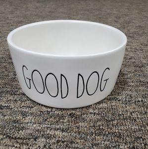 """Rae Dunn """"Good Dog"""" food dish"""